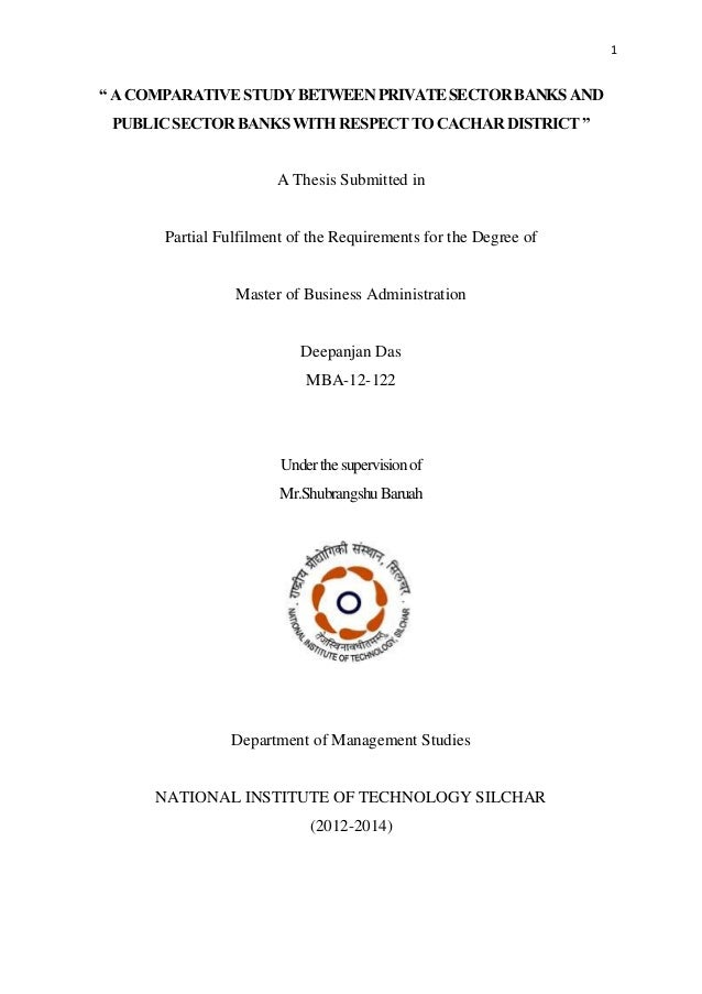 Dissertation On Quality Management In Public Sector