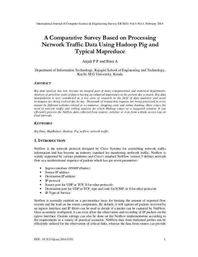 International Journal of Computer Science & Engineering Survey (IJCSES) Vol.5, No.1, February 2014 DOI : 10.5121/ijcses.20...