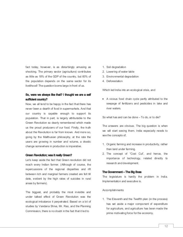 go green essay pdf