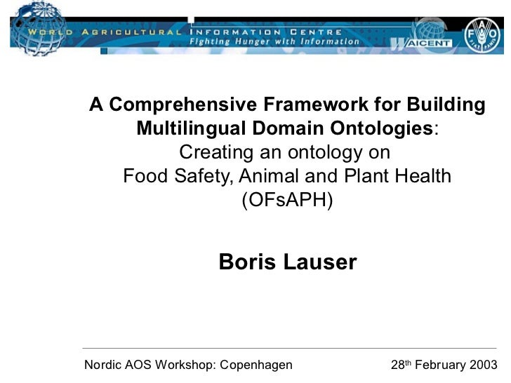 A comprehensive framework for building multilingual domain ontologies