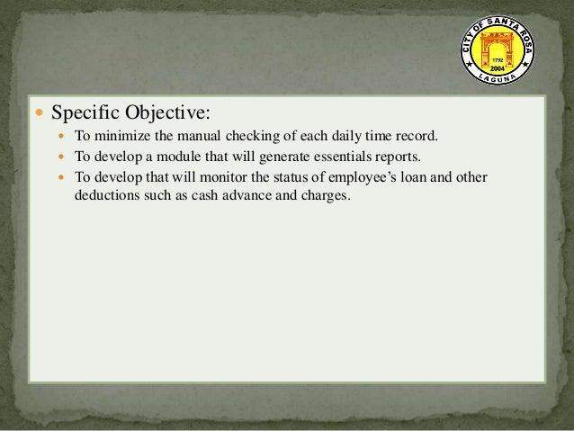 computerized payroll system documentation