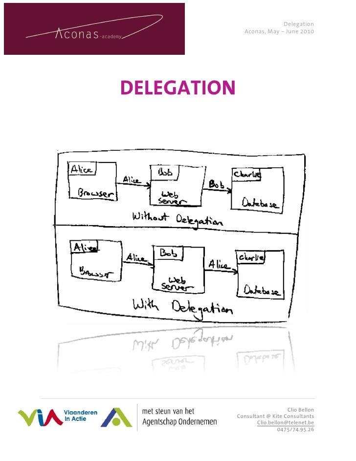 Aconas delegation