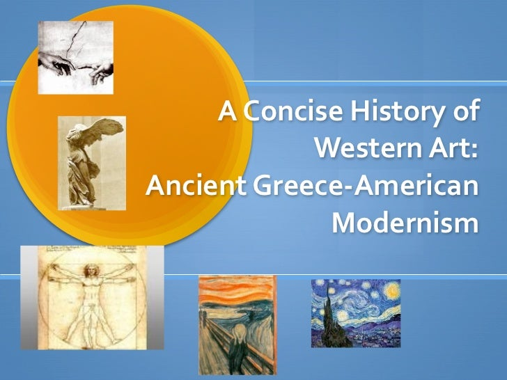 A concise history of western art