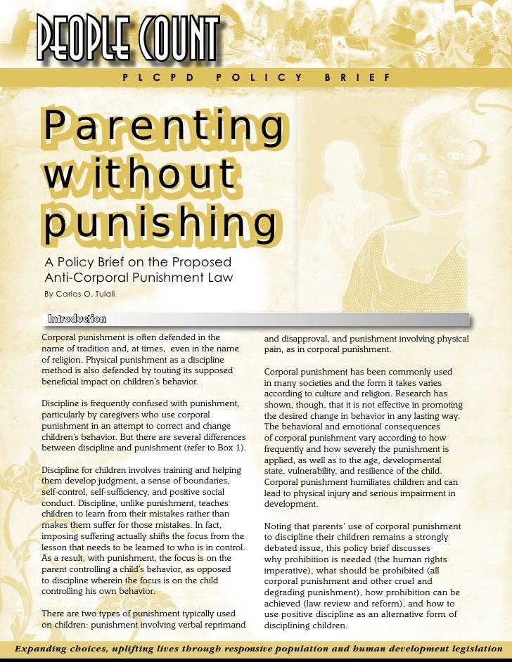 Essay On Corporal Punishment