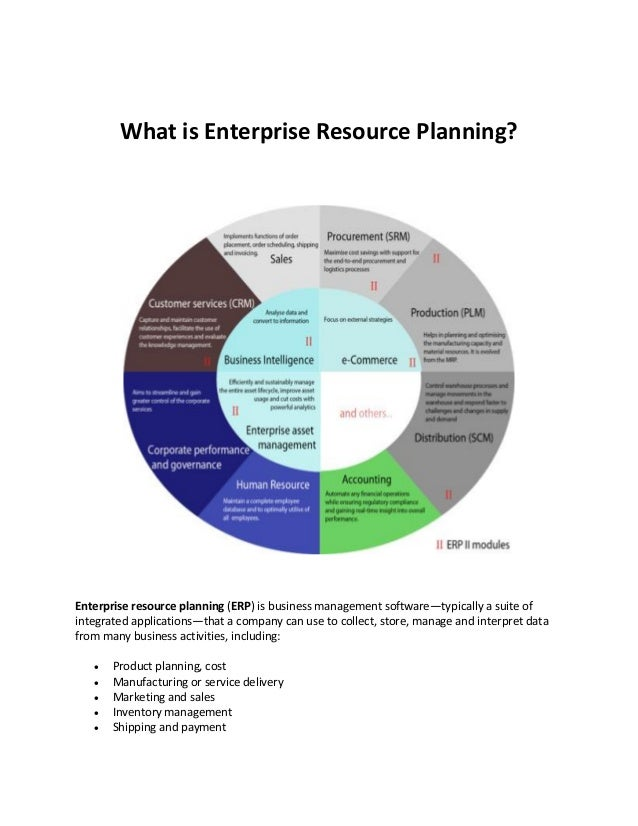 an analysis of enterprise resource planning Abstract: this paper uses a database, derived from a data repository, in order  to do an analysis of enterprise resource planning (erp) system benefits erp.