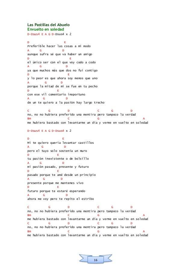 Acordes de Las Pastillas del Abuelo [LPDA] (PDF)