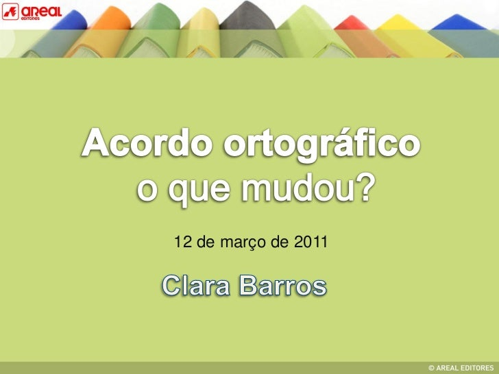 12 de março de 2011Clara Barros