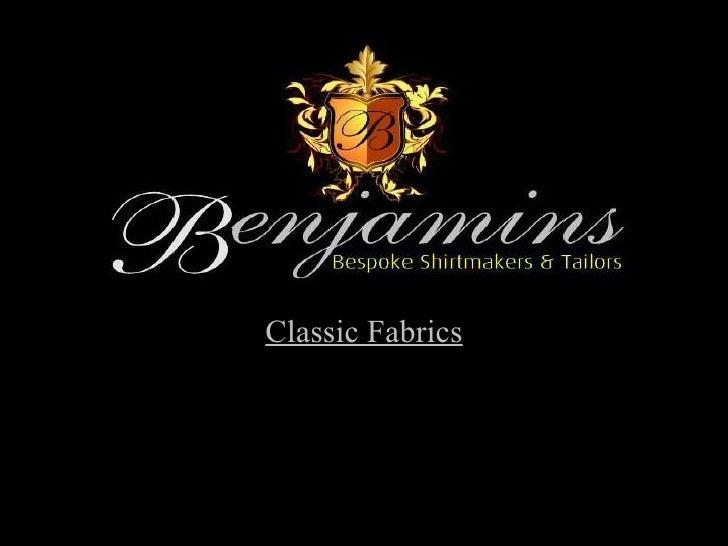 Classic Fabrics