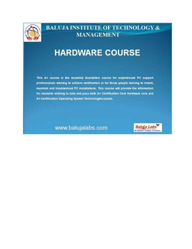 A+ course