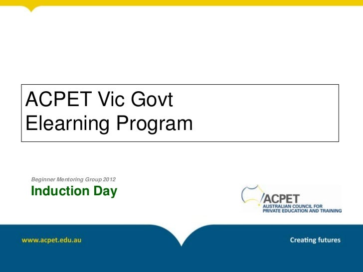 Acpet vic beg_induction_2012_draft