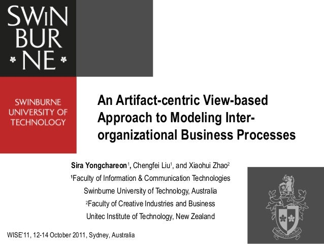 An Artifact-centric View-based Approach to Modeling Inter-organizational Business Processes
