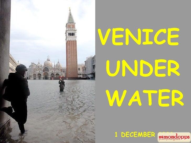 VENICE  UNDER  WATER  1 DECEMBER 2008
