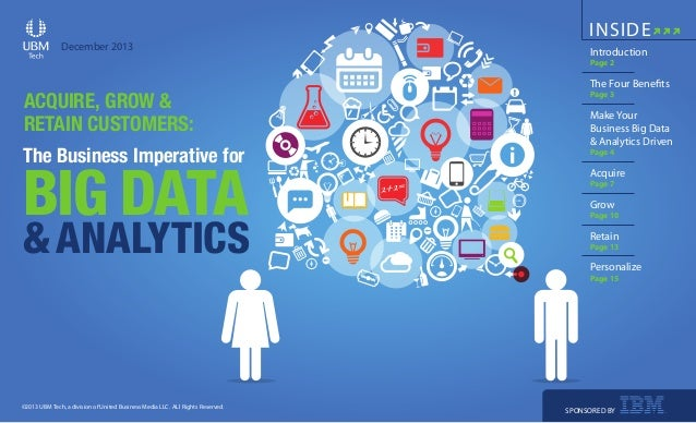 Acquire Grow & Retain customers - The business imperative for Big Data
