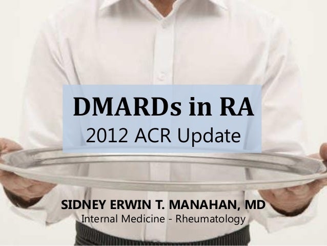 Acr 2012 updates and Philippine applicability
