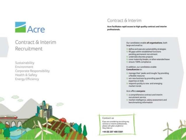 Acre - Contract & Interim Brochure