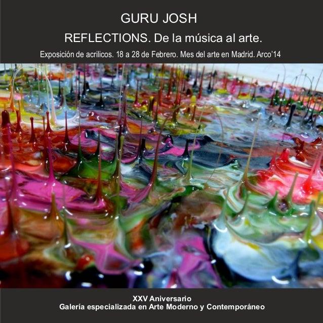 Reflections. Guru Josh. Catálogo de la muestra