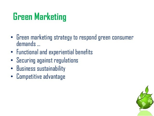 benefits of green marketing