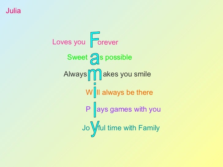 Acrostic Poems With A Twist Web