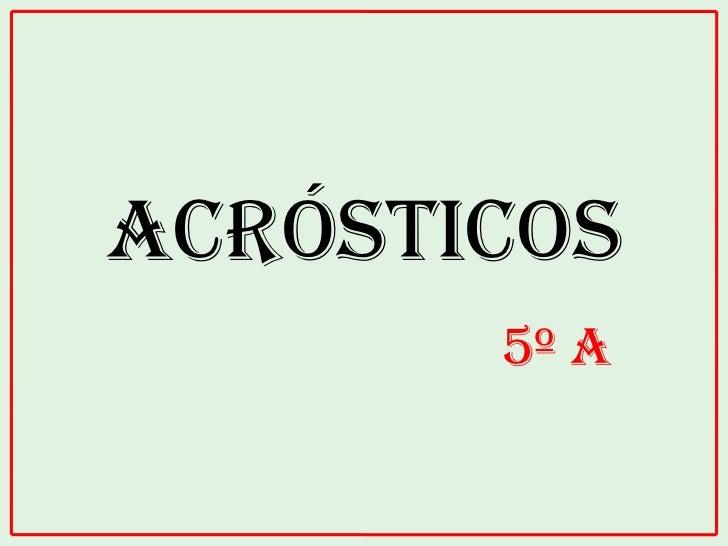 Acrostico Con El Nombre De Juan