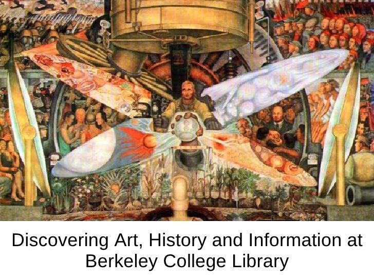 Discovering Art, History and Information at Berkeley College Library