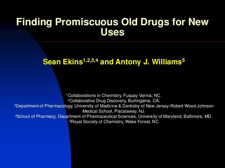 Acs   finding promiscuous old drugs for new uses-final