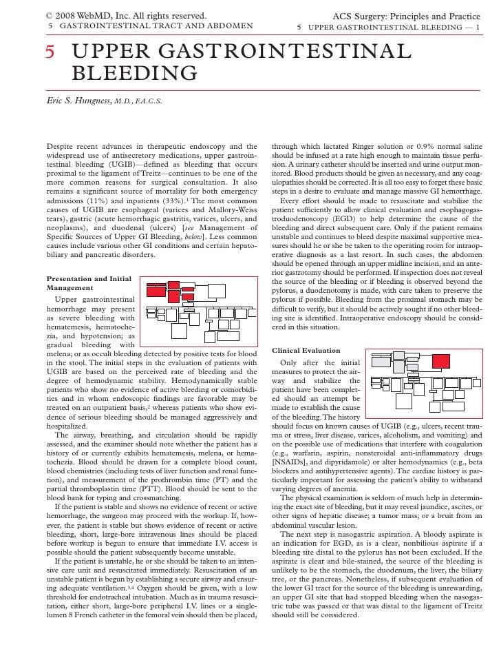 Acs0505 Upper Gastrointestinal Bleeding 2008
