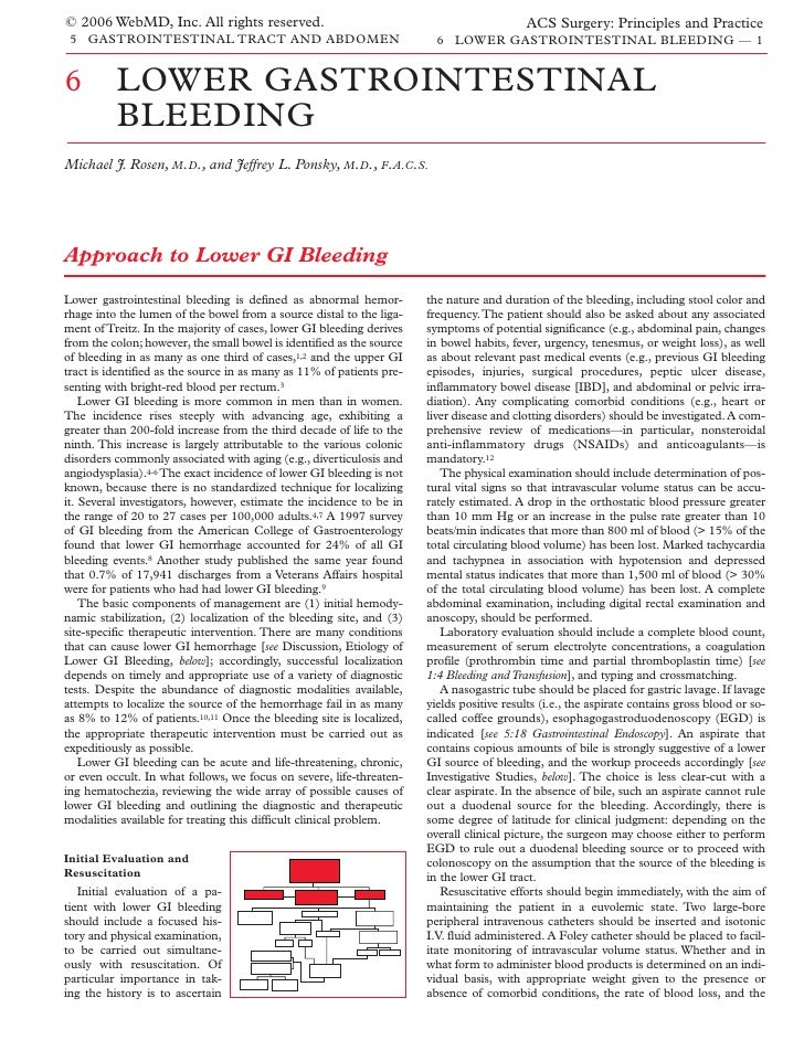 Acs0506 Lower Gastrointestinal Bleeding 2006