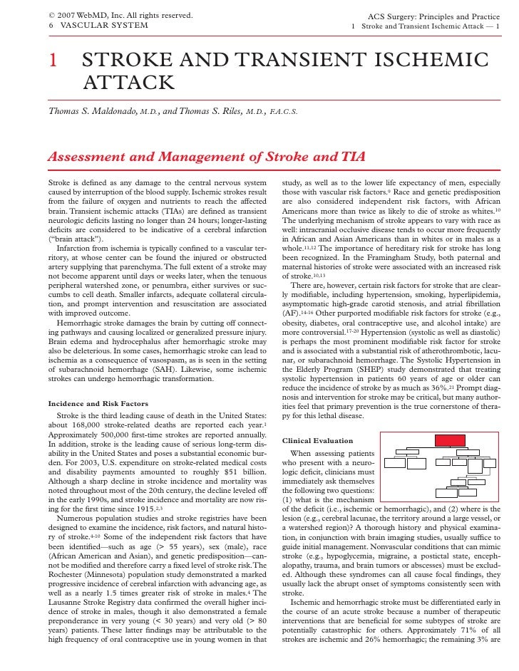 Acs0601 Stroke And Transient Ischemic Attack