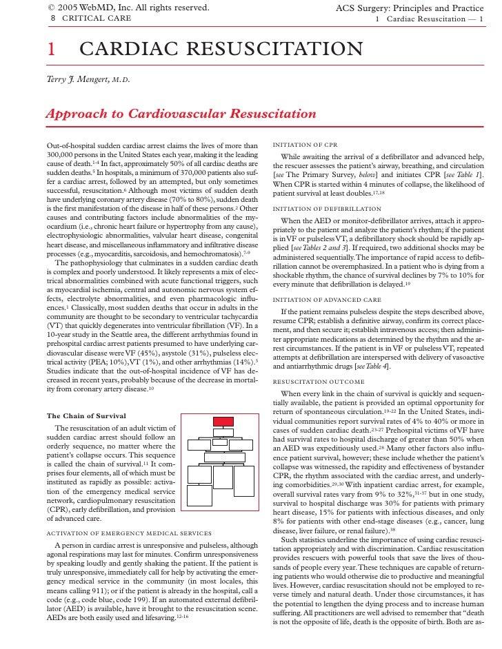 Acs0801 Cardiac Resuscitation