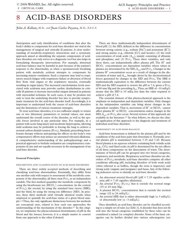 Acs0808 Acid Base Disorders