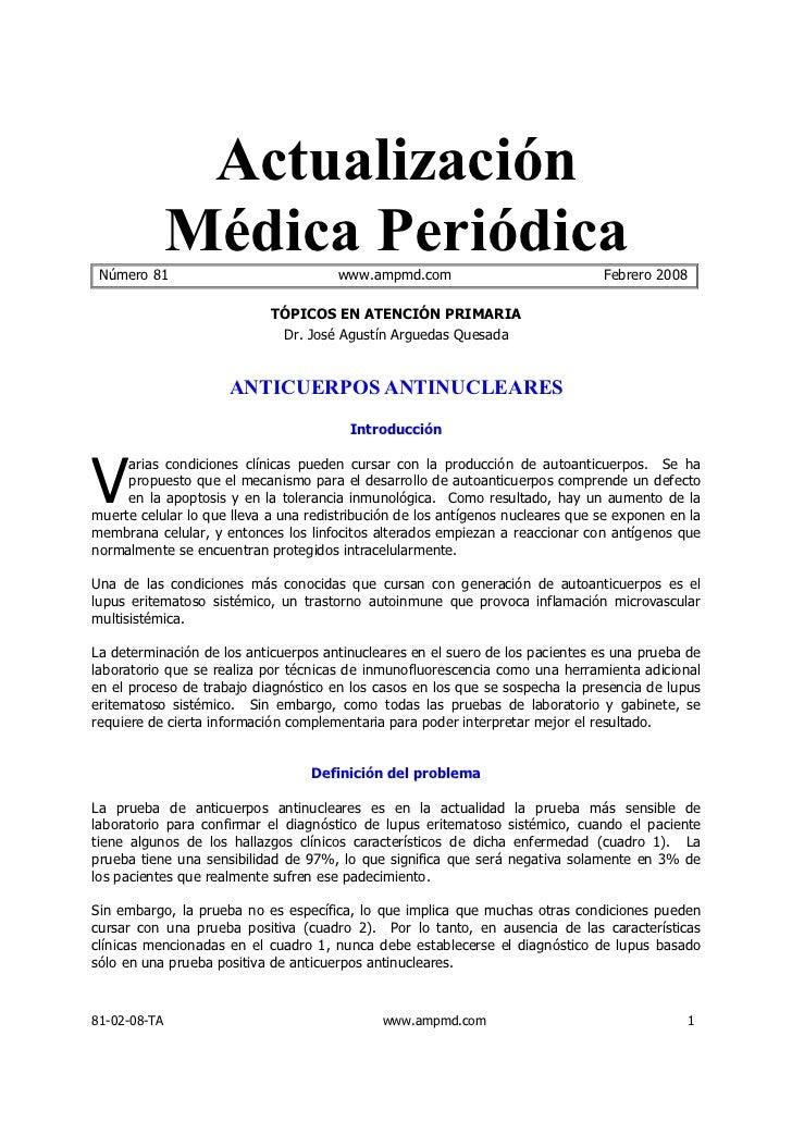 Actualización Número 81              Médica Periódica        www.ampmd.com                             Febrero 2008       ...