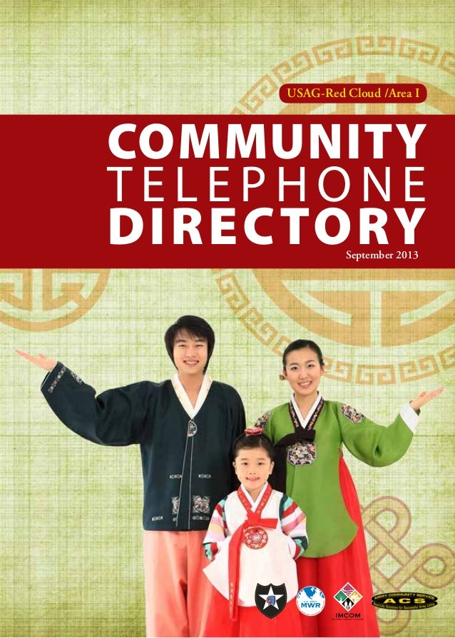 USAG-Red Cloud /Area I  Community Telephone Directory September 2013