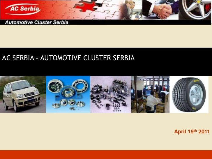 AC Serbia for SECEP