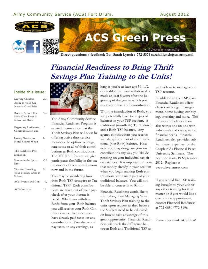 ACS Green Press August 2012