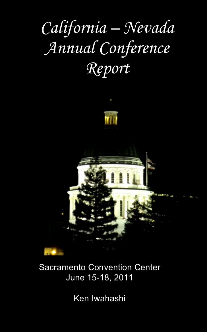Cal Nev Annual Conference Report 2011