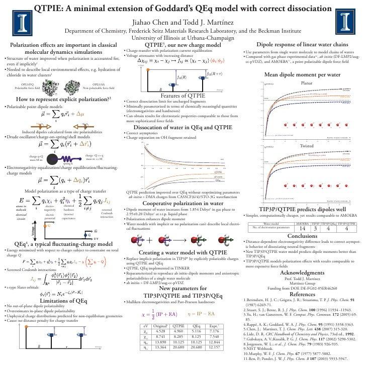 QTPIE: A minimal extension of Goddard's QEq model with correct dissociation                                               ...