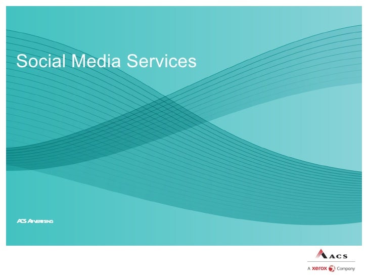 Acs Social Media Sales Presentation Products  Services
