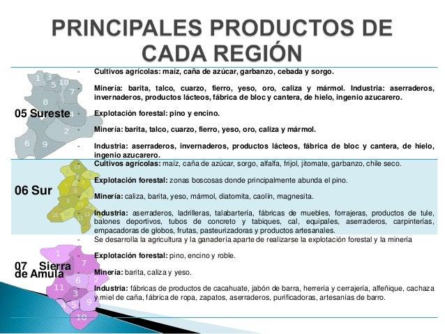 Act 1 regiones de mi estado for Fabrica de marmol en chile