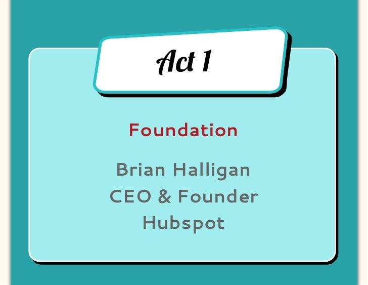 Brian Halligan, Hubspot
