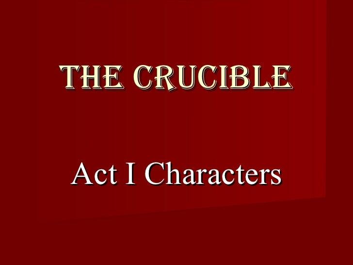 Crucible Persuasive Essay Topics