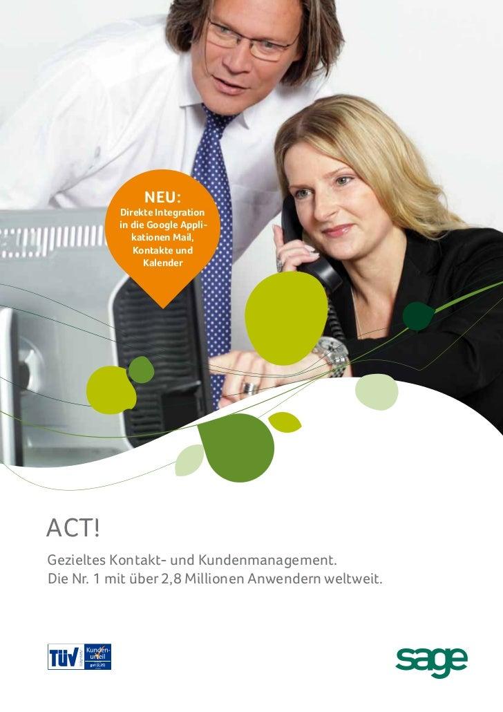 Act! 2012 Broschüre
