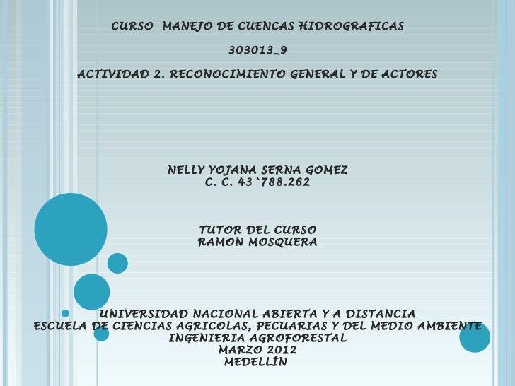 CURSO MANEJO DE CUENCAS HIDROGRAFICAS                                                      303013_9                      ...