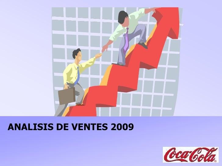 ANALISIS DE VENTES 2009<br />