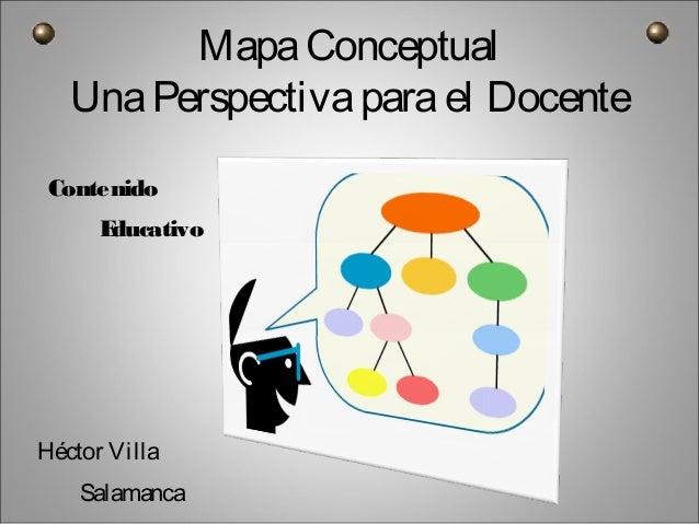 MapaConceptual UnaPerspectivaparael Docente Contenido Educativo Héctor Villa Salamanca