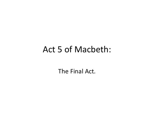 Thesis Statement For Macbeth