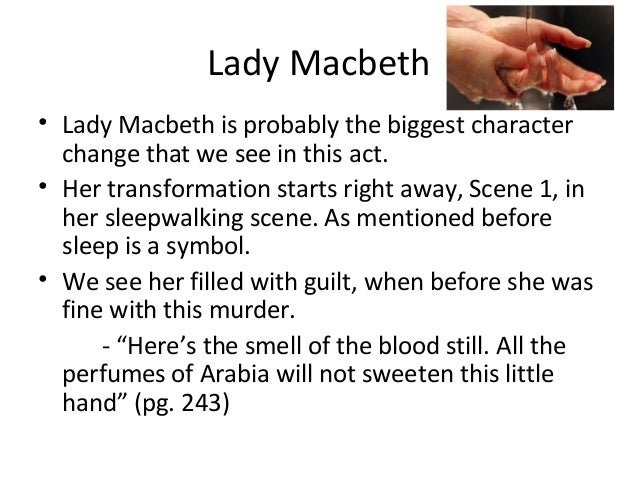 essay on macbeths character development chart