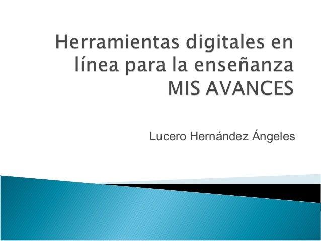Lucero Hernández Ángeles