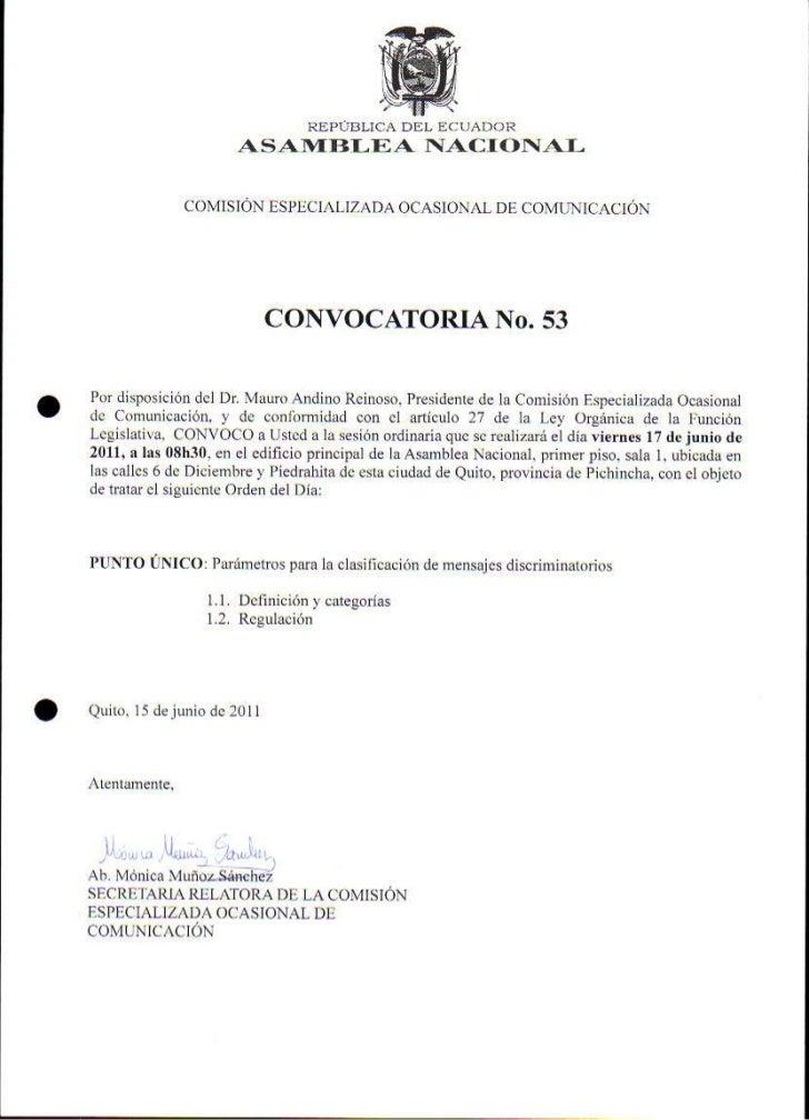Sesión COC Acta 53 17 06 2011