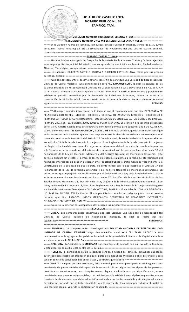 Acta constitutiva (3)