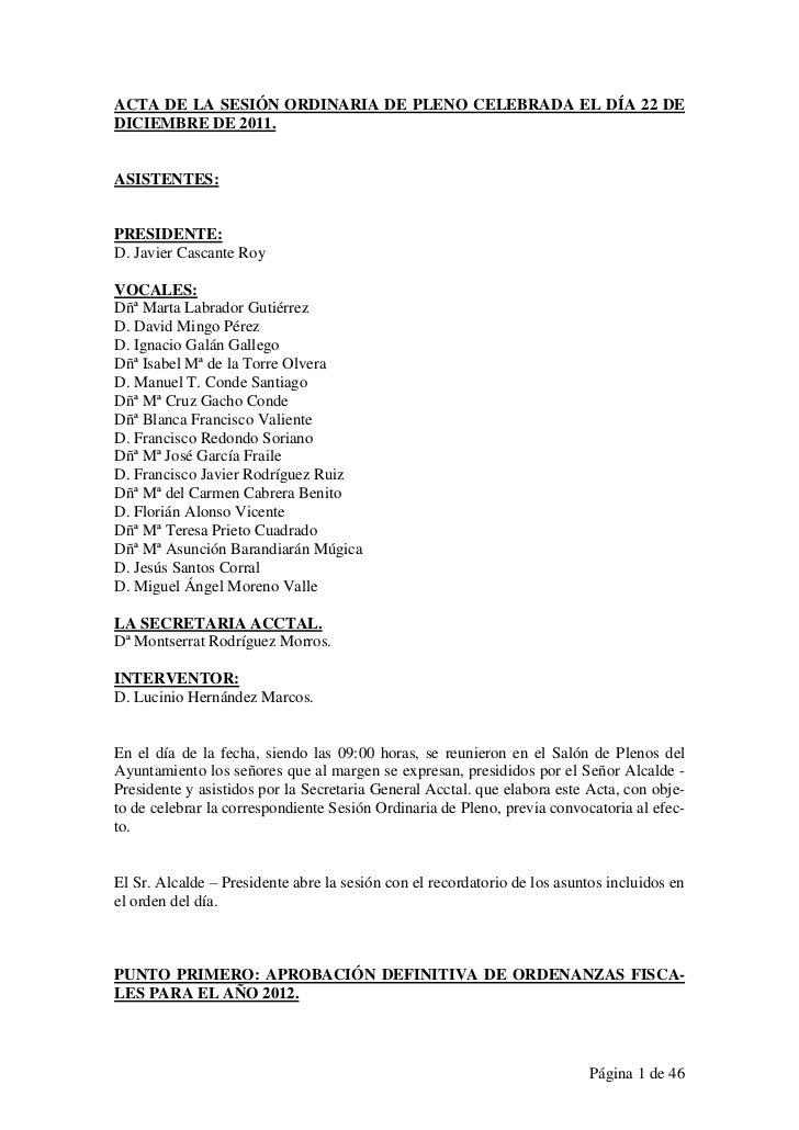 Acta pleno 111222